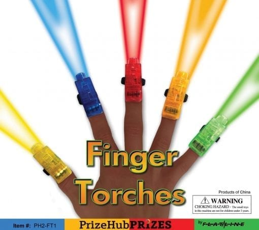 Finger Torches display PH2-FT1