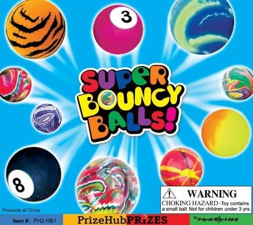 High Bounce Balls Display PH2-HB1