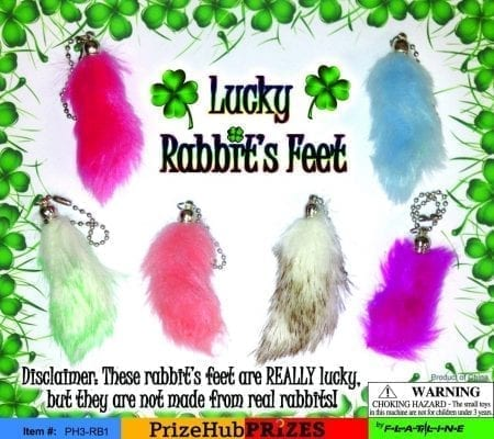 Rabbit's Foot display card