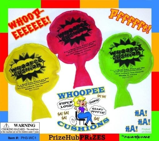 Whoopee Cushions display card