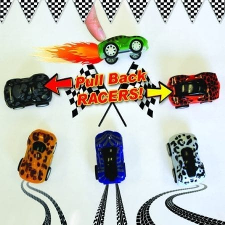 PH4-RC1 Pull Back Cars variety of styles and colors